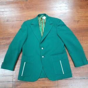 Men's 70's Blazer Size 40 Vintage Bright Coat Rad